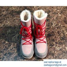 2015 NEW UGG Fur Short BootsFall Winter 2015Pink