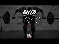 #RELPURPOSE | DAY 3 | BACK - Run Everything Labs