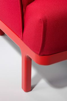 ZIP is a fluffy, modular seating system by esteestudio for B&V