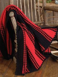 Lumberjack Throw free crochet pattern