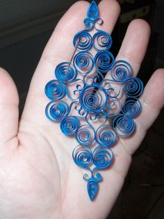 Psalm 91:11: New Quilled Ornaments   quilling projects   Pinterest