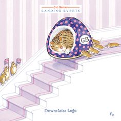 Landing Events:Downstairs Luge by Peter Cross