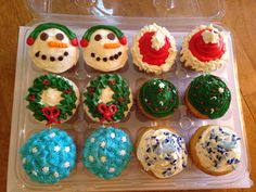 Christmas Cupcakes - Homemade