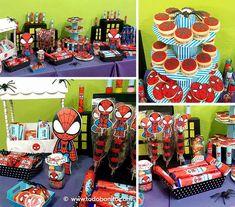 Cumpleaños con temática del hombre araña