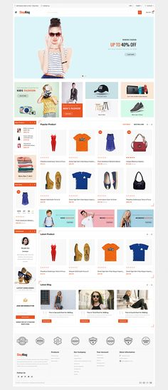 Template is a good choice for selling - WebTheme Online Themes, Fashion Web Design, Electronic Shop, Website Design Layout, Website Themes, Premium Wordpress Themes, Flower Food, Templates, Pet Store
