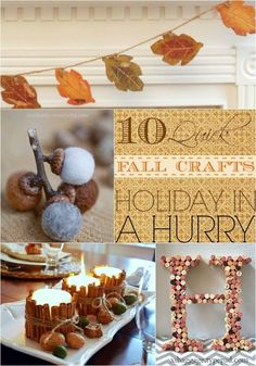 10 Easy Fall Crafts to Make