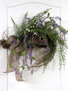 A Primitive Country Front Door Hanging/Swag, Great for Home or Office!