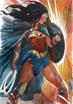 Wonder Woman by Stephanie Hans