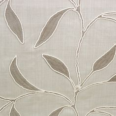 Laurel - Silver fabric, from the Cedar collection by Voyage