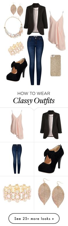 """""""Classy casual"""" by whitney-griffith on Polyvore featuring Michael Kors, Charlotte Russe, Humble Chic, Accessorize, 2LUV and Sans Souci"""
