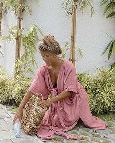 MELODY MAXI DRESS | DUSTY ROSE