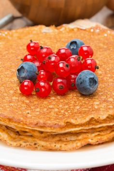 Low Carb Pancake Crepes Recipe...these are a great alternative to the oatmeal pancake!