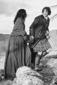 Outlander News// photo edit?? of pic from @themattroberts