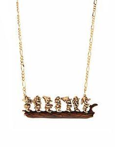 Un collar muy original #nosgusta: