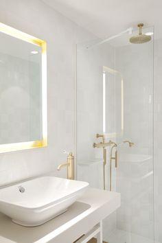 Hôtel Les Haras- Architecture, décoration & design, salle de bain