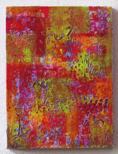 Approachable Art by Judi Hurwitt: More! - modeling paste and acrylic paint