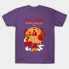 Shop Wine O'Clock - Red and Gold Version wine oclock t-shirts designed by kenallouis as well as other wine oclock merchandise at TeePublic. Boyfriend Gift Basket, Best Boyfriend Gifts, Best Gifts For Men, Gifts For Teens, Wine Gifts, Book Gifts, Teen Girl Birthday, Coupons For Boyfriend, Valentines Day Holiday