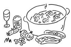 子牛のアバラ肉を白ワインで煮込む。 | OVNI| オヴニー・パリの新聞