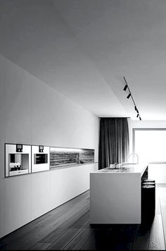 Visions of the Future: — Tamizo Architects Design Your Kitchen, Interior Design Living Room, Küchen Design, Home Design, Tamizo Architects, Minimal Kitchen, Stylish Kitchen, Interior Minimalista, Minimalist Interior