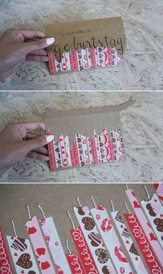 so ähnlich für Heidi gemacht #ahnlich #gemacht #heidi Diy Candles, 50th Birthday Cards, Bday Cards, Birthday Diy, Birthday Presents, Happy Birthday, Washi Tape Cards, Washi Tape Diy, Hand Lettering Tutorial