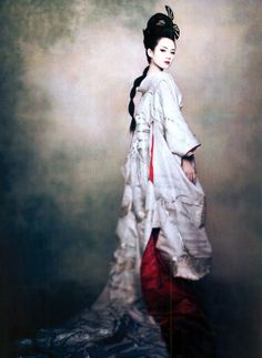 Ziyi Zhang by Paolo Roversi for Vogue Dec 2005