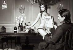 Playboy Magazine Print Adversiting Campaign