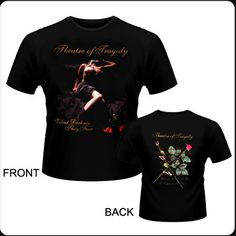 Camiseta de manga corta Theatre Of Tragedy - Velvet Darkness They Fear - Tall XL