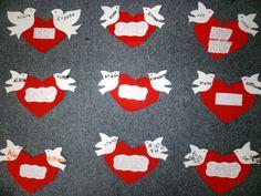 Peace Crafts, Kindergarten, Blog, Cards, Classroom, Class Room, Kindergartens, Blogging, Maps