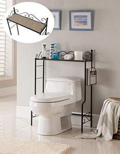 Kings Brand Etagere Freestanding Bath…