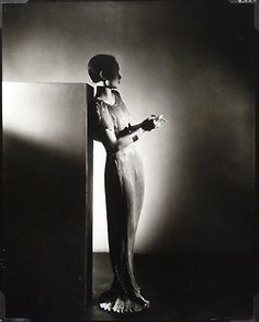 Mai-Mai Sze wearing Fortuny, 1934