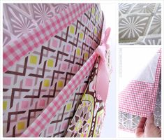 """I'm gonna make one of these for my grandson - not a """"romantic"""" one however! Bed Caddy, Bedside Caddy, Bedside Organizer, Fabric Pen, Fabric Storage, Love Craft, Diamond Pattern, Sewing Projects, Sewing Ideas"""