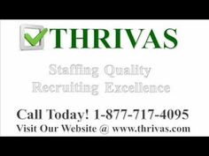 Pretty nice THRIVAS - Staffing Agencies In Tampa, FL - Temp Agency Tampa Florida Check more at http://dougleschan.com/the-recruitment-guru/staffing-agencies/thrivas-staffing-agencies-in-tampa-fl-temp-agency-tampa-florida/