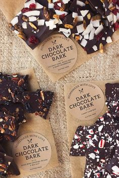 How-to Make Chocolate Bark Tutorial Tuesdays @tastyyummies