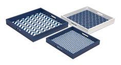 IMAX Essentials Graphic Trays - Set of 3 – Modish Store