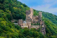 Castle Along the Rhine by Kay Kochenderfer