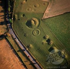 Photo Mug-Aerial image of Winterbourne Poor Lot Round Barrows, Winterbourne Abbas-Ceramic dishwasher safe mug made in the UK Ap World History, British History, Ancient History, Ancient Aliens, Dorset Coast, Dorset England, Aerial Images, Landscape Pictures, English Countryside