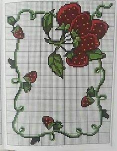 Cross Stitch Designs, Cross Stitch Patterns, Create A Board, Cross Stitch Flowers, Origami, Embroidery, Holiday Decor, Cornice, Free