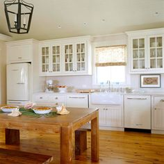 Kitchen Tour: White Cottage Kitchen