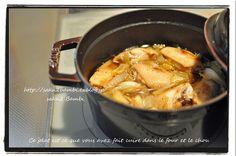 saku2 Bambi ~手作り大好き~:staubで手羽先とキャベツのオーブン煮