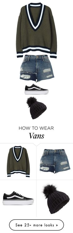 """Untitled #5396"" by twerkinonmaz on Polyvore featuring MANGO, River Island, Vans and Miss Selfridge"