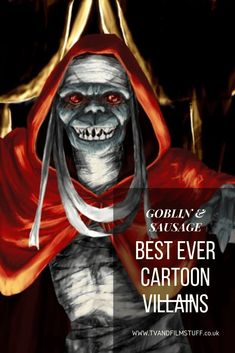 Best Ever Cartoon Villains - The Goblin & Sausage Frank Welker, Creepy Dude, Battle Of The Planets, Only Fools And Horses, Cobra Commander, 80 Cartoons, Great Names, Monty Python, Pale Skin
