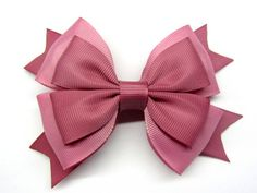 Dusty rose bow For girl hair bow Dusty pink Big bow Pink Large bow Pink hair Clip bow baby girl Alligator clip Hairbow Pink baby girl pink Handmade Hair Bows, Diy Hair Bows, Ribbon Hair, Ribbon Bows, Rosé Hair, Girl Hair, Girls Bows, Baby Girls, Making Hair Bows