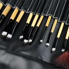 2017 high quality Brushes Makeup Brushes Set Tools Portable Full Cosmetic Brush Tools Makeup Accessories 24pcs/Set