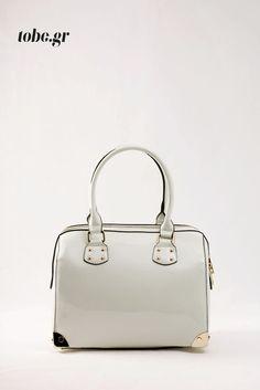 Τσάντα λουστρίνι λευκή - ζαχαρί. Κωδ. 118.002, τηλ. 2510 241726 Kate Spade, Bags, Fashion, Handbags, Moda, Fashion Styles, Fashion Illustrations, Bag, Totes