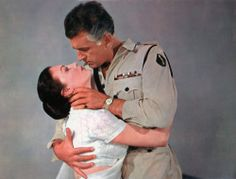 "Stewart Granger and Ava Gardner in ""Bhowani Junction"""