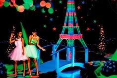 Fiesta fluorescente para tus 15 años