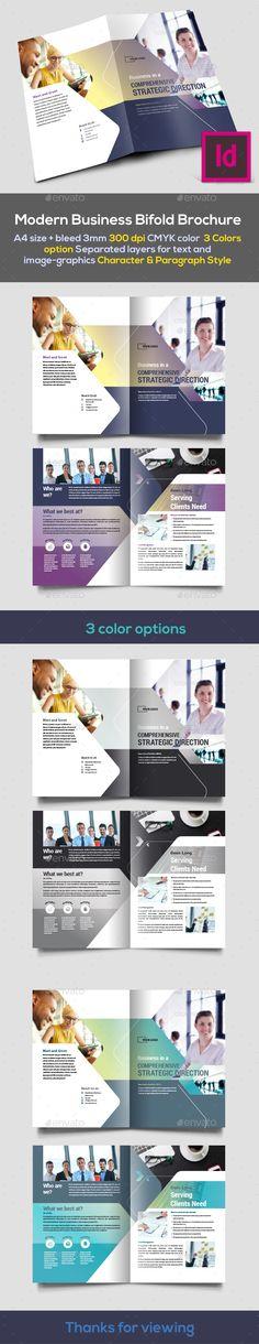 Modern Bifold Brochure - Corporate Brochures Download here : https://graphicriver.net/item/modern-bifold-brochure/19351462?s_rank=86&ref=Al-fatih