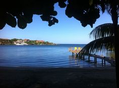 Roatan, Honduras beach view. Photo by Amanda Walkins
