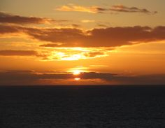 Sunset over the Solway Coast - Taken from Whitehaven (March 2014)