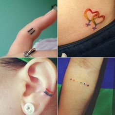 38 Gorgeous Gay Pride Tattoos